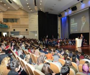"""Davutoğlu'ndan """"Bilgi, Bilinç Ve Ahlak"""" konferansı"""