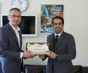 Katar Ticaret Odası, BAKAF'ı ziyaret etti