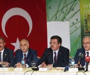 """Bakan Zeybekci: """"Türkiye dünya kuru üzüm ticaretinin yüzde 25'ini yapıyor"""""""