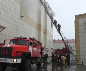 Rusya'da AVM yangını: 5 ölü