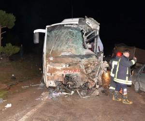 Otobüs kazasında yaralı sayısı 26'ya yükseldi
