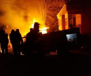Ordu'da depo yangını