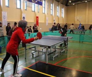 KYK'da Masa Tenisi Turnuvası