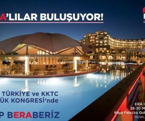 2018 ERA Türkiye ve KKTC Büyük Kongresi Antalya'da gerçekleşecek