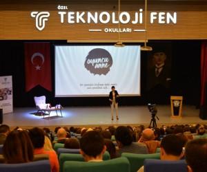Teknoloji Fen Okulları Şermin Yaşar'ı ağırladı