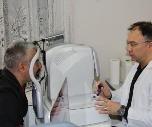 Erzincan'da ilk defa vitrektomi ameliyatı yapıldı