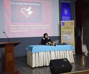 Müminlerin annesi Hazreti Hatice Bursa'da anıldı