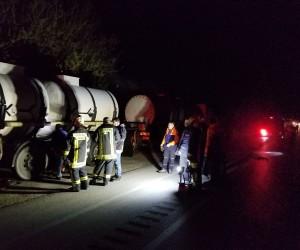 Tankerden sızan tuz ruhu paniğe neden oldu