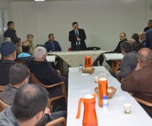Vali Ali Arslantaş, Değirmenli köyünü ziyaret etti