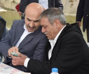 Vali Mahmut Demirtaş, şehidin mevlidine katıldı