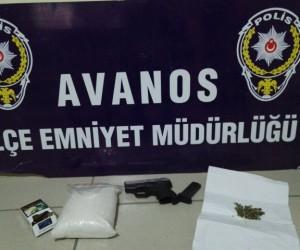 Yarım kilogram metamfetamin yakalatan şahıs tutuklandı