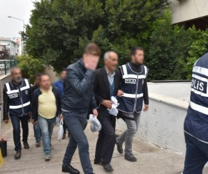 Hakkında yakalama kararı olan 9 kişi yakalandı