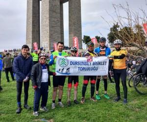 Dursunbeyli Bisikletçiler Çanakkale'de