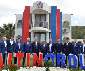 Altınordu'ya UEFA çıkarması