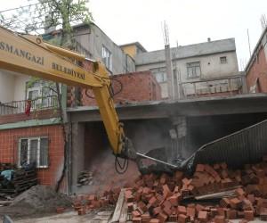 Kaçak inşaata zamanında müdahale