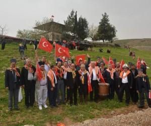 -Antalyalı Yörükler, sınırda Mehmetçiğe destek verdi