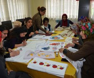 Engellilere yönelik sanat ve meslek kursları devam edecek