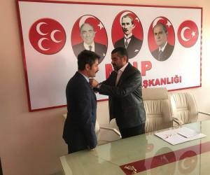 Köy korucuları MHP'ye üye oldu