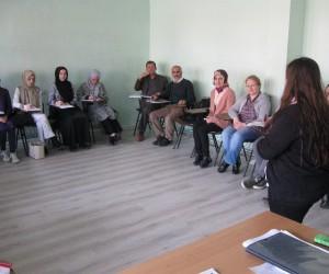 Pazaryeri'nde Türk işaret dili kursu