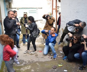 Ünlü fotoğrafçıdan Manisa sokaklarında fotoğraf eğitimi