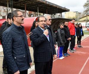 Anadolu Yıldızlar Ligi Atletizm Grup Müsabakaları Uşak'ta başladı