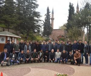 Eskişehir'deki misafir öğrencilerden Bilecik'e ziyaret