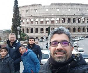 Malatyalı öğrencilerin İtalya gezisi