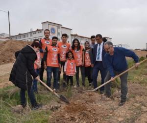 Özel İbrahim Yücel'de 'Ağaç Bayramı' etkinliği
