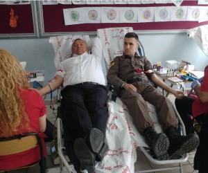 Çanakkale ve Afrin şehitleri anısına 201 ünite kan toplandı