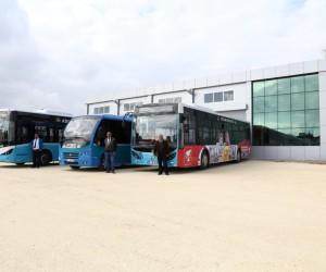 Otobüs Bakım İstasyon inşaatı tamamlandı
