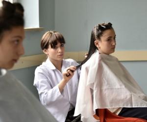 Gümüşhane'de örnek saç bakım projesi