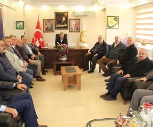 Başkan Kösemusul, Ahmet Soğuk'u makamında ziyaret etti