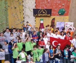 Tırmanış Milli Takımı Balkanlar'dan madalyayla döndü
