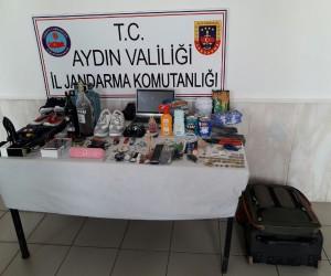 Didim'de kiralık araçla hırsızlık yapan zanlı yakalandı