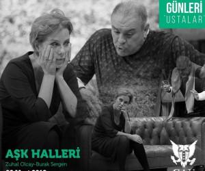 """Zuhal Olcay ve Burak Sergen """"Aşk Halleri"""" oyunu ile sahnede"""