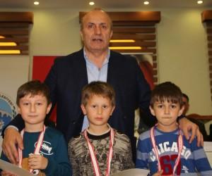 Taşköprü'de Satranç Turnuvası'na yoğun ilgi