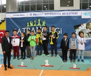 Büyükşehir Satranç Ligi'nin beşinci etabı tamamlandı