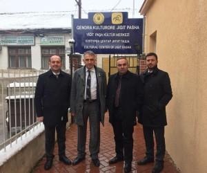 Başkan Ay, Makedonya'da önemli görüşmelerde bulundu