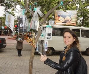 Aydın'da ağaçlar kitap açtı