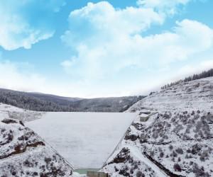 Akçay Barajı 4 mevsimde görüntülendi