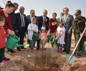 Adana BTÜ'de Dünya Ormancılık Haftası kutlandı
