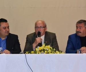 Başkan Kadir Albayrak Malkara'da muhtarlarla buluştu