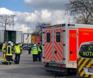 Almanya'da soğutucu kamyonunda, ölmek üzere olan 8 mülteci bulundu