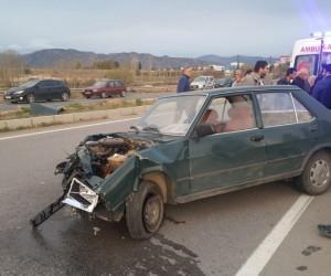 Acıpayam'da trafik kazası: 1 ölü, 1 yaralı