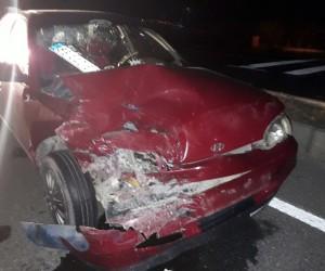 Malatya'da otomobiller çarpıştı: 4 yaralı