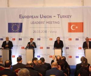 AB-Türkiye Zirvesi sona erdi