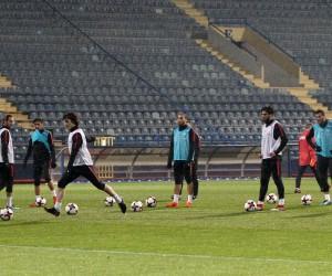 A Milli Takım Karadağ maçı hazırlıklarını tamamladı