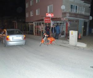 Pompalı tüfekle rastgele ateş açan şahıs polisten kaçamadı