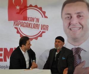 Hakan Özdemir seçim çadırı projesi