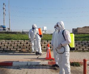 İnegöl Belediyesi koronavirüs ile alakalı çalışmaları başlattı